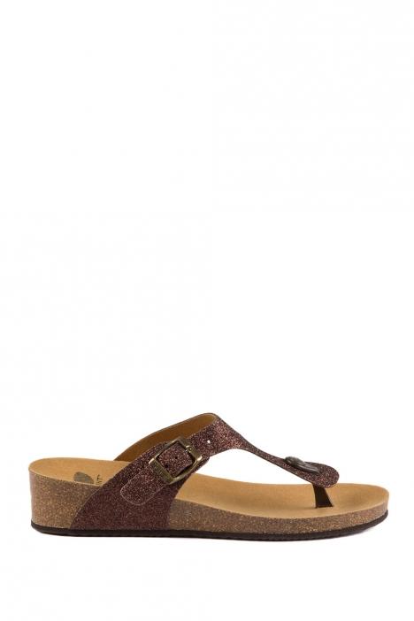 26542 Scholl Gandia Kadın Terlik 35-41 Kahverengi / Brown
