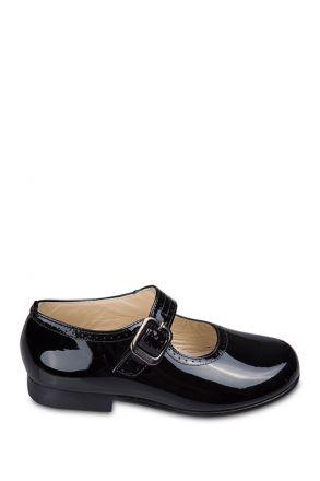 27098 Chiquitin Çocuk Ayakkabı 24-29 Siyah / Cha. Negro