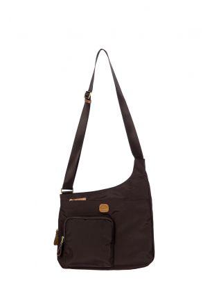 2732 Bric's X-Bag Postacı Çantası 32x28x8 cm MOCCA - KAHVE TONU