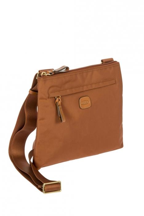 2733 Bric's X-Bag Omuz Çantası 27x25x4 cm Bakır / Rust