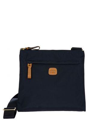 2733 Bric's X-Bag Omuz Çantası 27x25x4 cm Lacivert / Ocean Blue