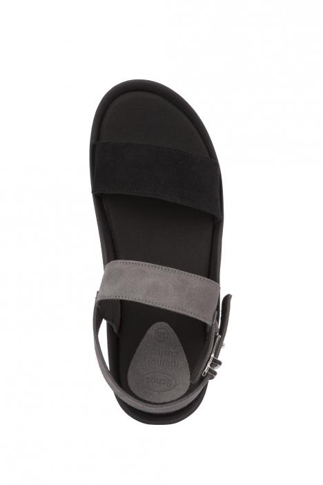 27448 Scholl Mamore Kadın Sandalet 36-40 Black/Dark Grey
