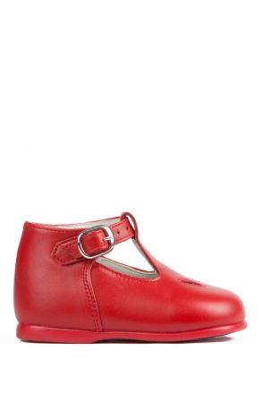 28 Chiquitin İlk Adım Çocuk Ayakkabısı 17-22 Kırmızı / Rojo