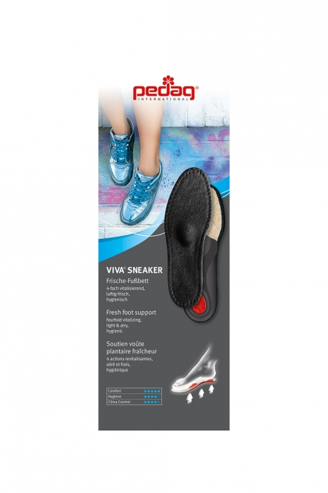 2883 Pedag Viva Sneaker (Summer) 36-48 Siyah / Nero