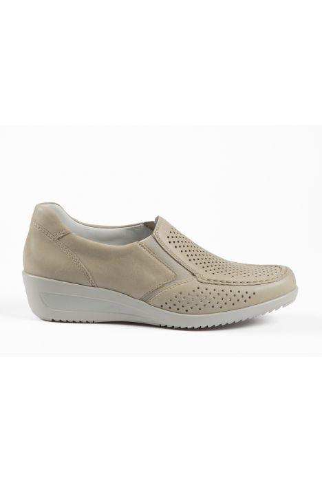 30601 Ara Kadın Dolgu Topuk Deri Ayakkabı 3,5-8,5 LINO - 07L