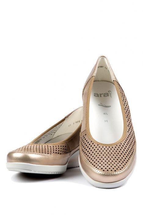 30652 Ara Kadın Dolgu Topuk Ayakkabı 3,5-8,5 PLATIN, TAUPE - 05PT