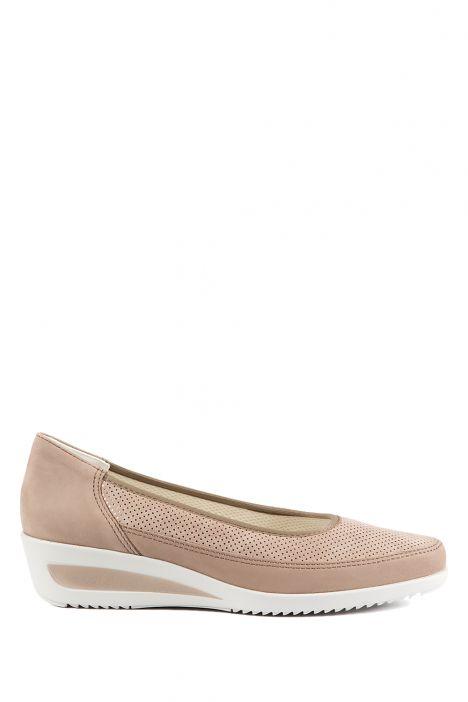 30663 Ara Kadın Dolgu Topuklu Ayakkabı 3.5-8.5 TAUPE NUBUK - 05NT