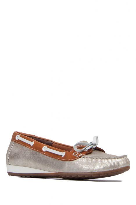 30836 Ara Kadın Ayakkabı 3,5-8,5 PLATIN,SADDLE/OFFWHITE - 07P