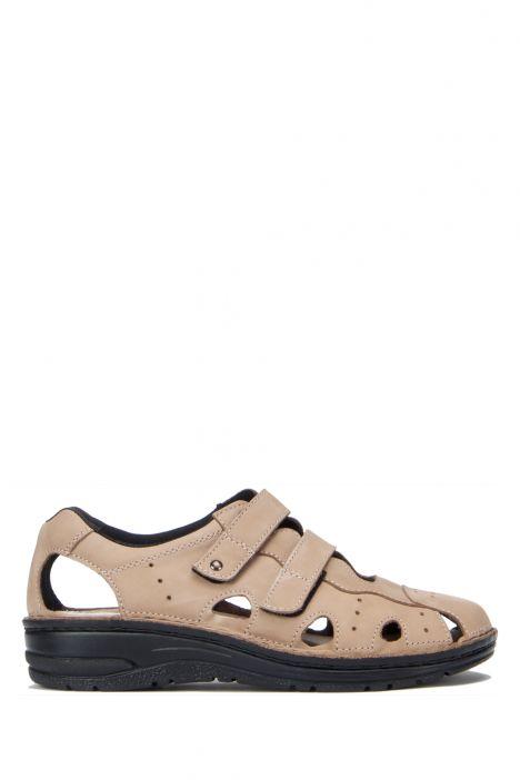 3100 Berkemann Kadın Sandalet 3.0-8.5 Mattbroun Nubuk - 449