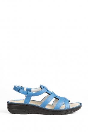 3105 Berkemann Kadın Anatomik Deri Sandalet 3-8,5 Royal Leder - 365