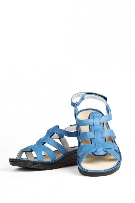 3105 Berkemann Kadın Sandalet 3-8,5 Royal Leder - 365