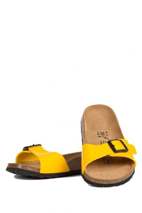 312673 Birkenstock Betula Luca Kadın Terlik Sarı / Yellow