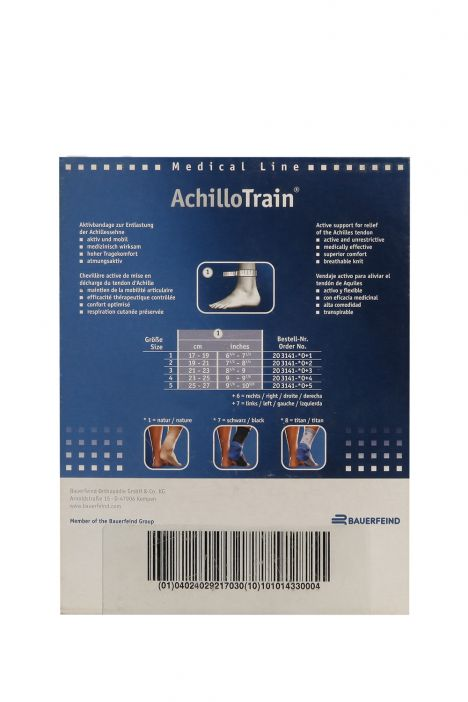 3141 ACHILLO TRAIN BILEKLIK 1-5 SOL