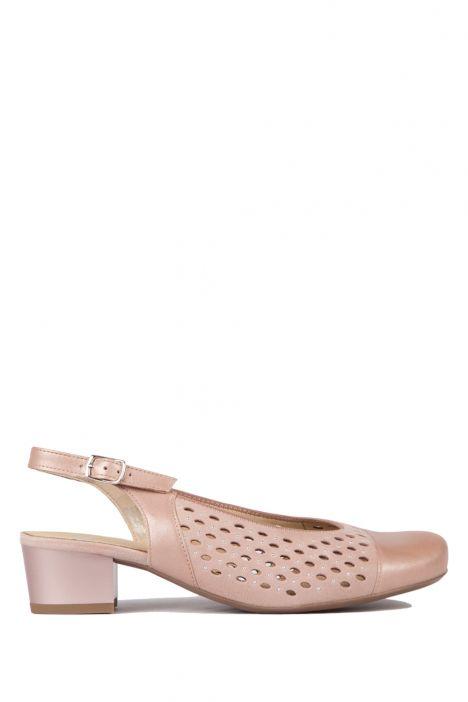 32084 Ara Kadın Topuklu Sandalet 3-8 NOVELLACALF, SAMTCHEVRO, PUDER - 05NSP