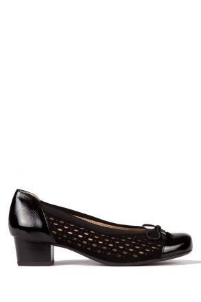 32088 Ara Kadın Topuklu Ayakkabı 3-8 VERNICE, SAMTCHEVRO, SCHWARZ - 01VSS
