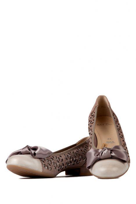 33757 Ara Kadın Ayakkabı 3-8 FOSSIL,TAUPE-SILBER - 05FT