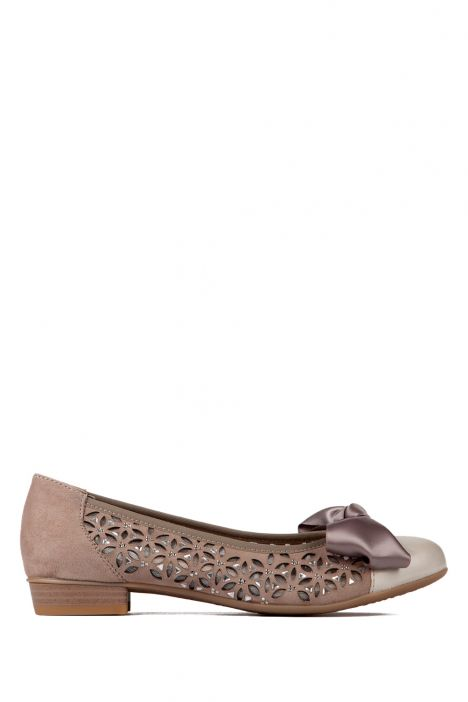 33757 Ara Kadın Nubuk Ayakkabı 3-8 FOSSIL,TAUPE-SILBER - 05FT