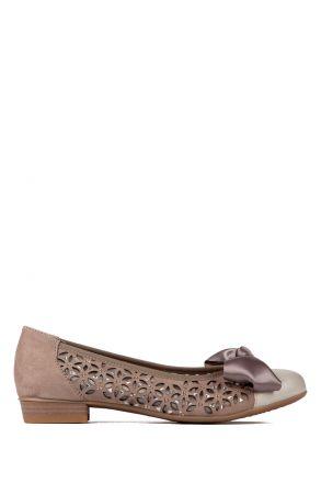 33757 Ara Kadın Nubuk Ayakkabı 3-8