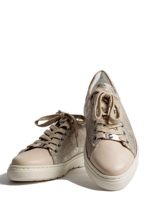 33803 Ara Kadın Spor Ayakkabı 3,5-8,5 NATUR,CHIARA/PLATIN - 05N