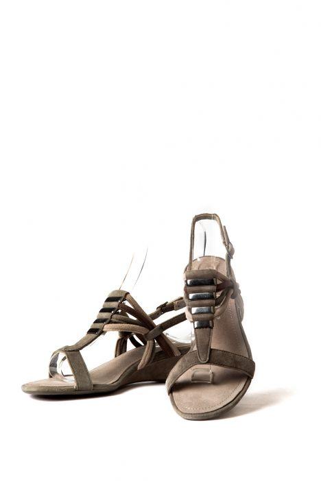 34118 Ara Kadın Süet Sandalet 3-8 ALPACA,GRIGIO/TUNDRA - 06AGT