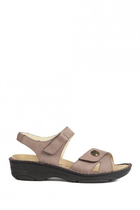 3412 Berkemann Kadın Sandalet 3-8,5 Stone Nubuk - 967