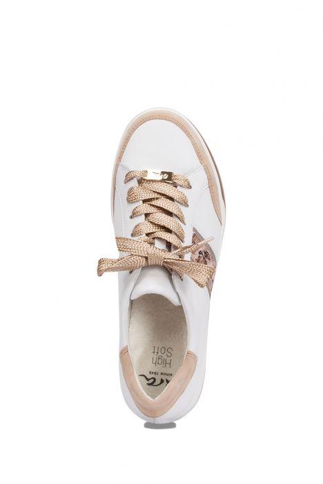 34471 Ara Kadın Deri Spor Ayakkabı 3.0-8.0 CAMEL/WEISS PLATIN/PUDER - 05CPP