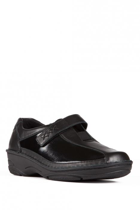 3492 Berkemann Kadın Ayakkabı 3-8,5 Nubuk Siyah / Nubuck Schwarz