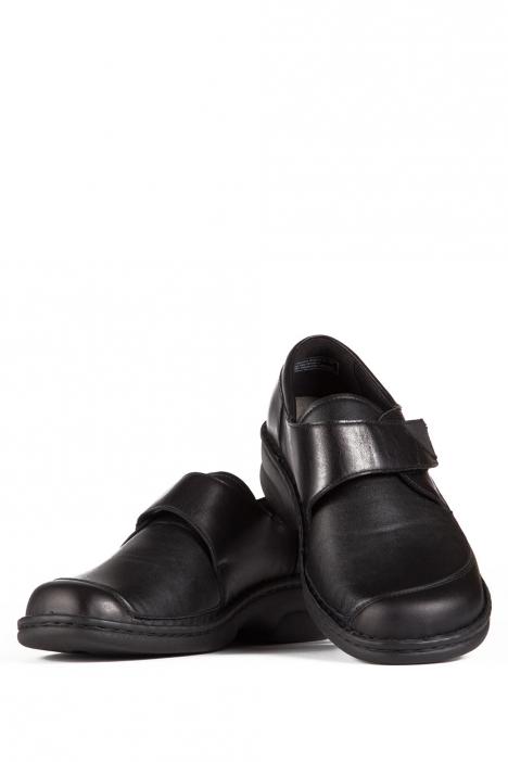 3523 Berkemann Kadın Anatomik Deri Ayakkabı 3-8,5 Schwarz Leder/Strc. - 906