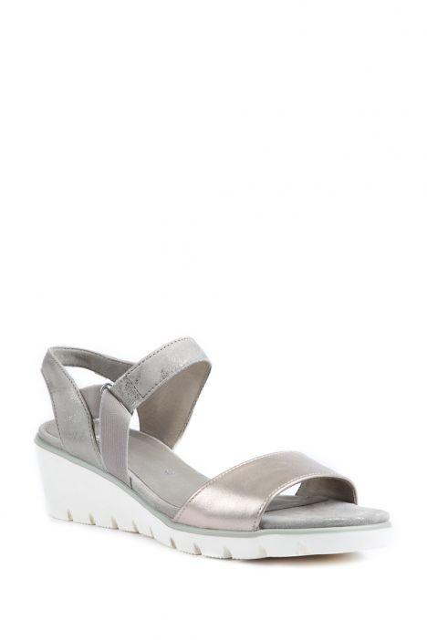 35313 Ara Kadın Dolgu Topuk Sandalet 3-8,5 PLATIN,CHIARA - 07PC