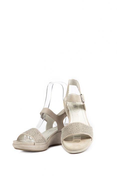 35343 Ara Kadın Süet Sandalet 3 - 8 KIESEL - 06K