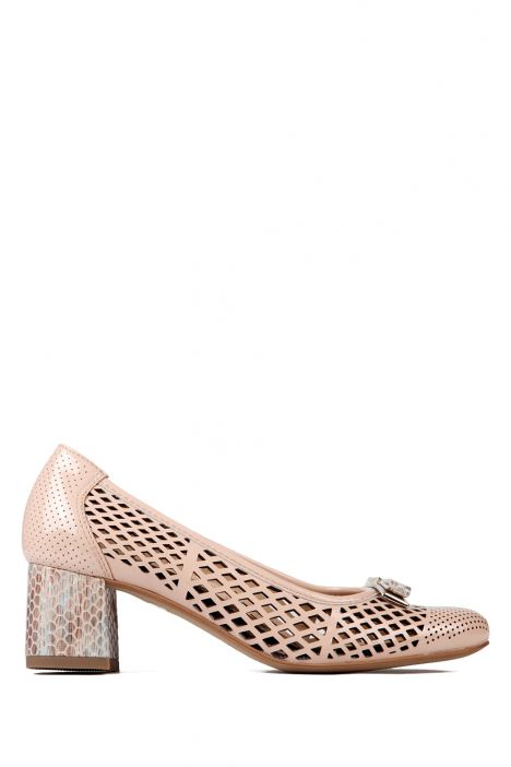 35570 Ara Kadın Rugan Ayakkabı 3-8 SALMON,TAUPE - 66ST