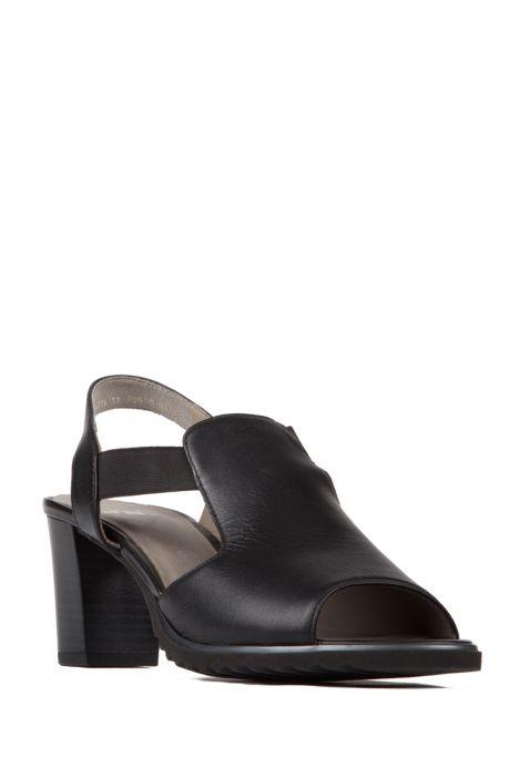 35649 Ara Kadın Topuklu Deri Ayakkabı 3-8 SCHWARZ - 01S