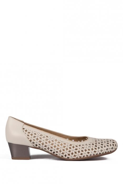 35862 Ara Kadın Topuklu Ayakkabı 3-8 SOFTCALF-A, PRE-MET, MARMOR,TITAN - 07SMT