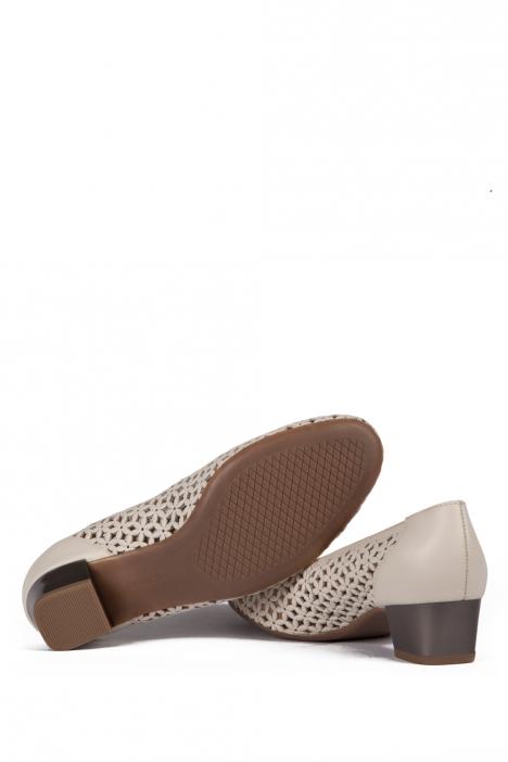 35862 Ara Kadın Topuklu Deri Ayakkabı 3-8 SOFTCALF-A, PRE-MET, MARMOR,TITAN - 07SMT