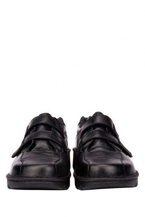 3602 Berkemann Kadın Anatomik Deri Ayakkabı 3-8,5 Schwarz Kalbsleder - 901