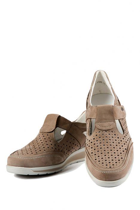 36355 Ara Kadın Nubuk Ayakkabı 3,5-8,5 TAUPE,PLATIN - 05TP