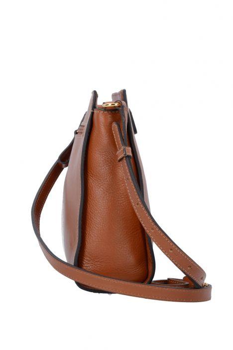 3659 Bric's Life Pelle Omuz Çantası 25x22x9 cm Taba / Leather