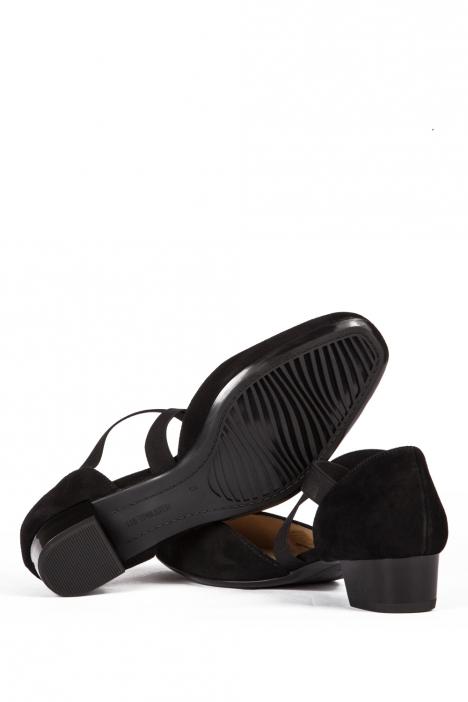 36831 Ara Kadın Topuklu Nubuk Ayakkabı 3-7 SAMTCHEVRO, SCHWARZ - 01SS