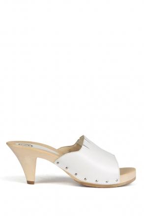 370 Berkemann Kadın Terlik 36-41 Beyaz / Bianco