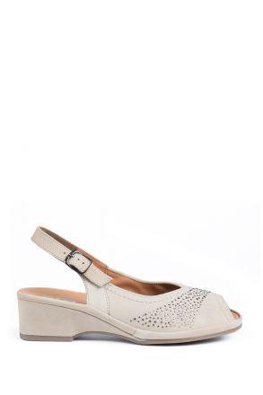 37005 Ara Kadın Nubuk Sandalet 3 - 8,5 MOON - 06M