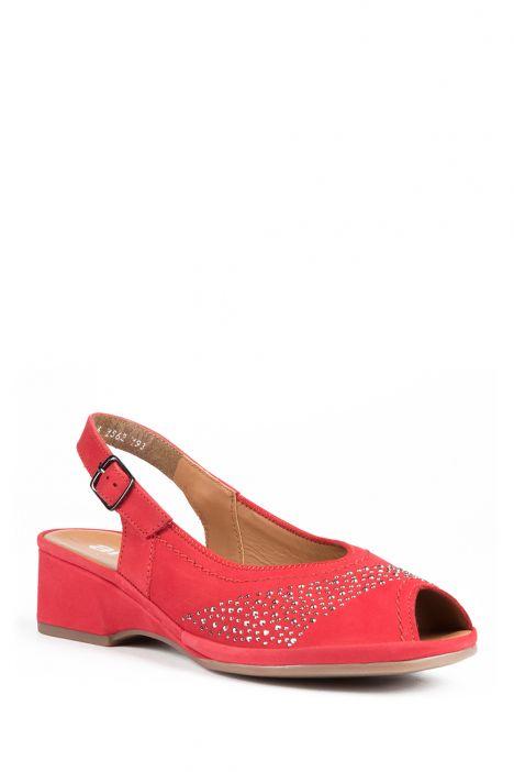 37005 Ara Kadın Nubuk Sandalet 3 - 8,5 ROSSO - 07R