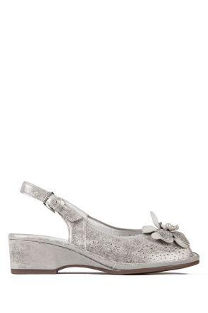 37016 Ara Kadın Deri Sandalet 3-8