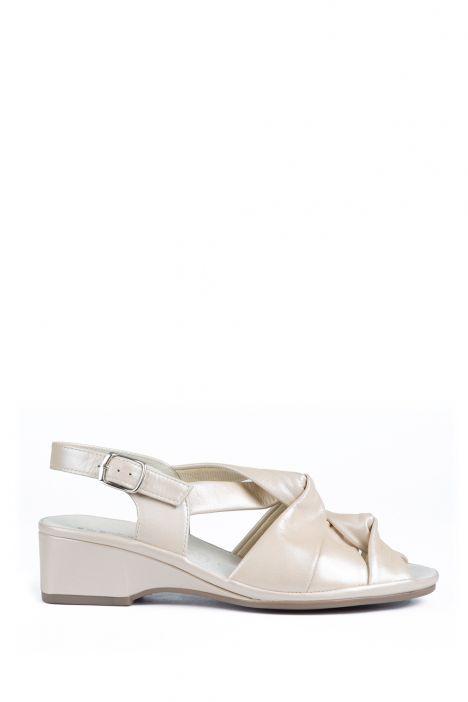 37020 Ara Kadın Deri Sandalet 2,5-8 MARMOR - 08M