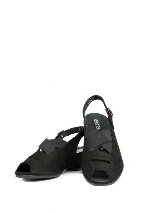 37034 Ara Kadın Sandalet 2,5-8 SCHWARZ NUBUK-HEAVEN - 05NS