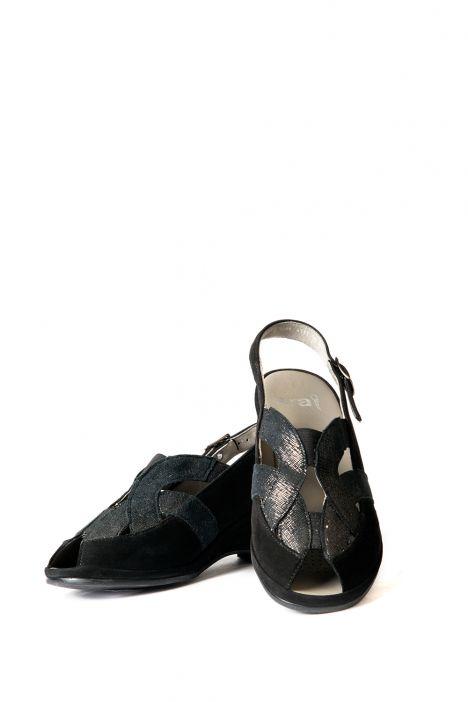 37040 Ara Kadın Sandalet 3-8 SCHWARZ - 01S