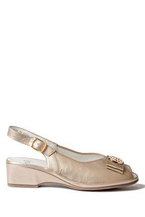 37055 Ara Kadın Deri Sandalet 3-8
