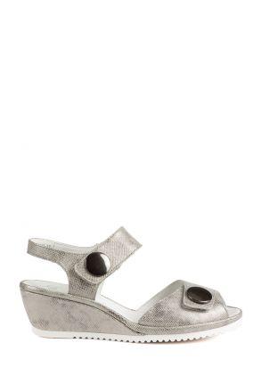 37113 Ara Kadın Dolgu Topuk Sandalet 3-8,5