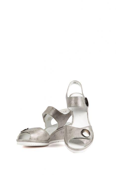 37113 Ara Kadın Dolgu Topuk Sandalet 3-8,5 GRIGIO - 07GR