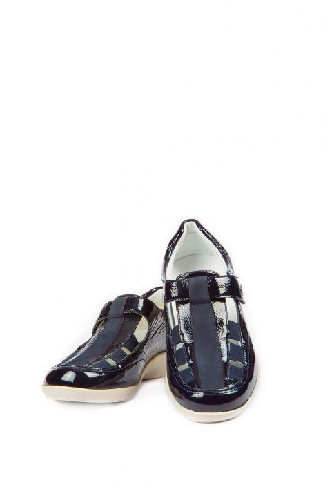 37535 Ara Kadın Dolgu Topuk Rugan Ayakkabı 3,5-8,5 BLAU - 02B