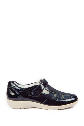 37535 Ara Kadın Dolgu Topuk Rugan Ayakkabı 3,5-8,5
